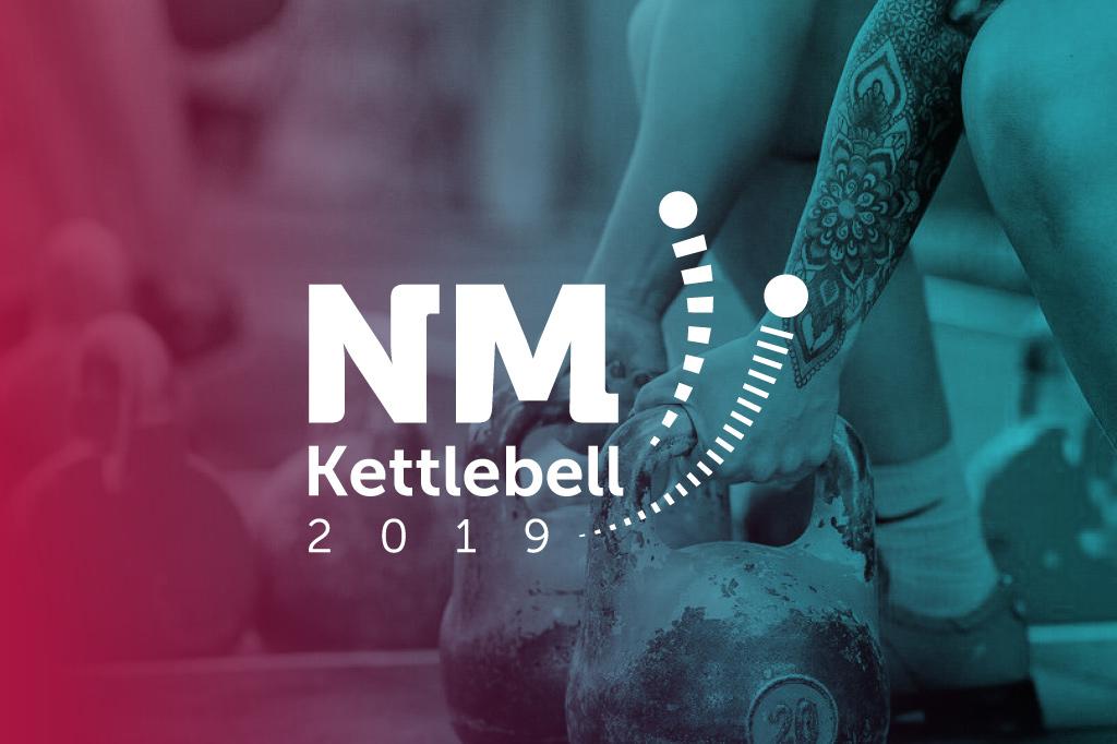 Logo utforma til NM Kettlebell 2019.